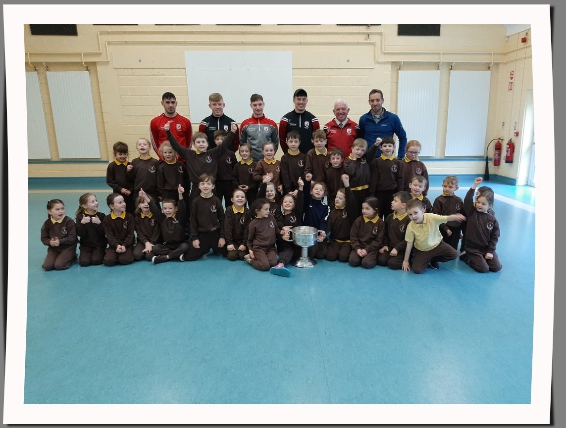County Champions come to Visit
